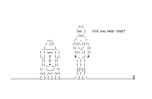 Star Wars i ASCII