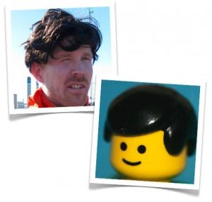 Lika som bär - Hasse & Legogubbe