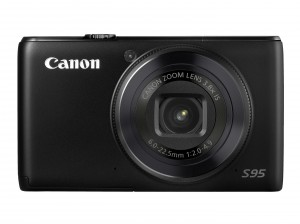 Canon S95 front