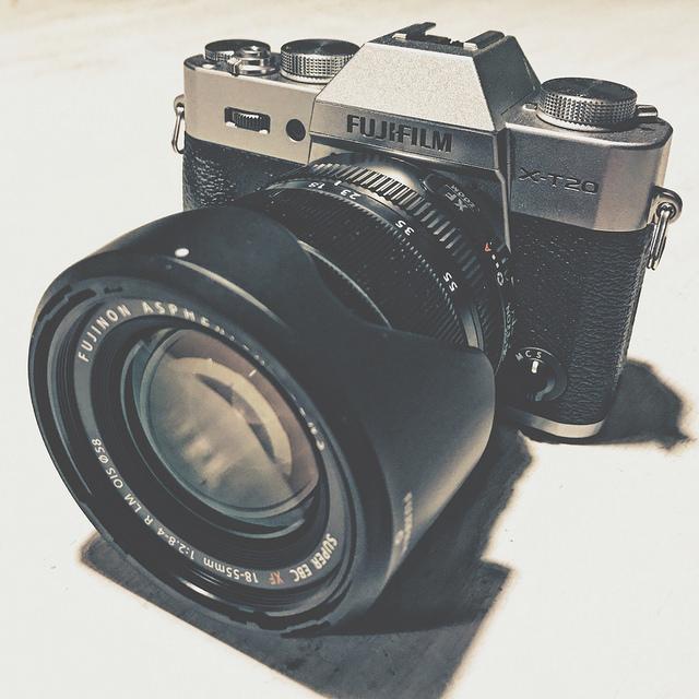 Ny kamera – Fujifilm X-T20