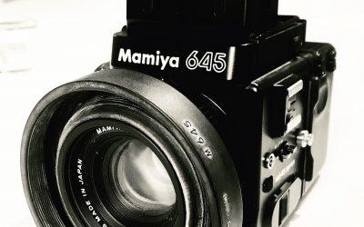 Ny kamera – Mamiya 645 Super