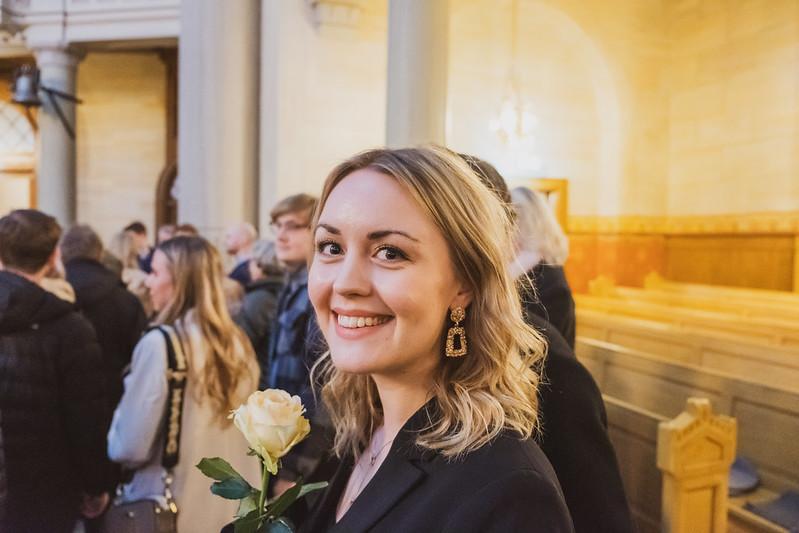 Grattis Emma till examen!