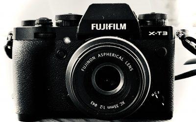 Ny kamera igen – Fujifilm X-T3